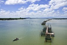 Free Fisherman Village In Eastern Thailand Stock Photography - 9854382