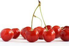 Free Red Cherries Royalty Free Stock Photography - 9854877