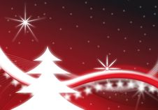 Free Red Christmas Background Royalty Free Stock Photos - 9855008