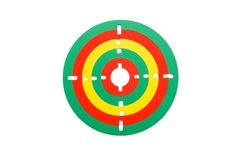 Free Toy Rubber Target Isolated Royalty Free Stock Image - 9855146