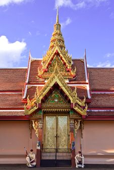 Free Thai Style Architecture Stock Photos - 9855733