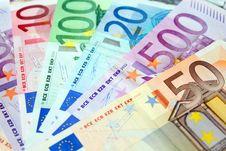 Free Euro Background Royalty Free Stock Image - 9855736