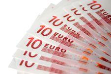 Free Euro Background Stock Photo - 9855840