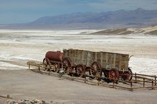 Free Historical Wood Wagon Stock Photography - 9857692