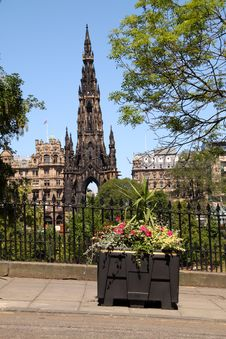 Free Scott Monument, Edinburgh Stock Images - 9857824