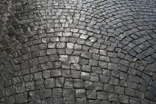 Free Cobblestone Pavement Royalty Free Stock Image - 9857926
