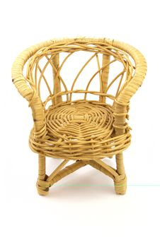 Wattled Chair Royalty Free Stock Images