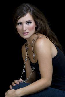 Free Brunette Female Model Stock Images - 9858724