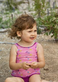 Free Small Girl Stock Image - 9859461