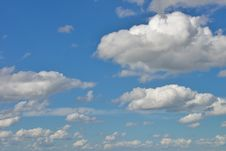 Free Clouds In A Light Blue Sky Stock Image - 98537081