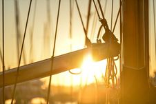Free Close Up Of Boat Beam Royalty Free Stock Photography - 98537167