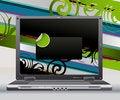 Free Simple Illustration Laptop Stock Photos - 9862273