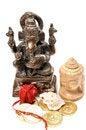Free Lord Ganesha And Buddha Royalty Free Stock Images - 9863129