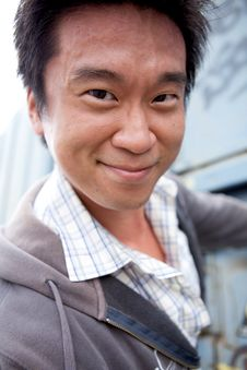 Free Interestng Asian Man Stock Photos - 9860823