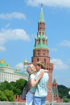 Young Couple In The City Royalty Free Stock Photography