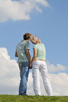 Free Young  Couple Royalty Free Stock Photography - 9861057