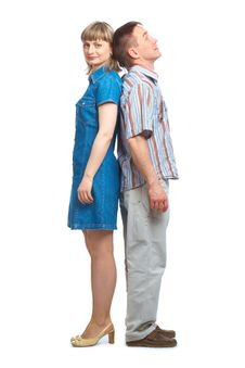 Happy Loving Couple Stock Photography