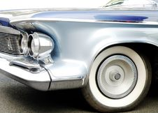 Free American Car Royalty Free Stock Photography - 9861707