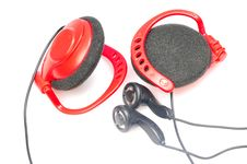Free Headphones Royalty Free Stock Images - 9861769