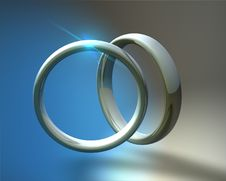 Free Rings Royalty Free Stock Image - 9861886