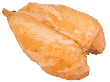Free Smoked Chicken Breast Royalty Free Stock Photos - 9861888