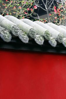 Free An Ancient Wall In China Stock Photography - 9862172
