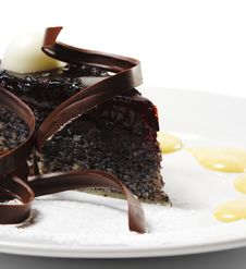 Free Dessert - Chocolate Cake Stock Photo - 9862260