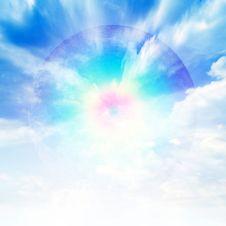 Free Solar Sky Royalty Free Stock Photo - 9862595