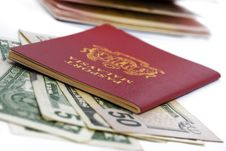 Free International Passport Series 05 Royalty Free Stock Image - 9862636
