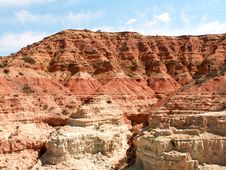 Free Red Mountains Stock Photography - 9862712