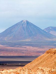 Volcano Licancábur Stock Photo