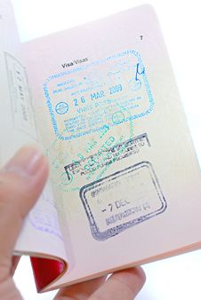 Free International Passport Series 02 Stock Images - 9862734
