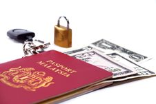 Free International Passport Series 10 Stock Photo - 9862940