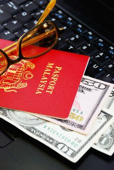 Free International Passport Series 07 Royalty Free Stock Photo - 9863015