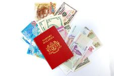Free International Passport Series 06 Royalty Free Stock Photo - 9863215