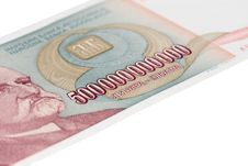 Free 500 Billion Money Bill Stock Photo - 9863620