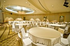 Free Banquet Room Royalty Free Stock Photo - 9863805
