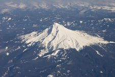 Free Aerial View Of Mountain Stock Image - 9863941