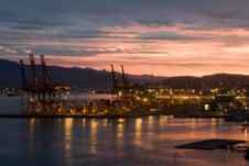 Free Vancouver Harbour Skyline From Convention Centre Royalty Free Stock Photography - 9864057