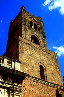Free Monreale Cathedral Bell Tower, Palermo Sicily Stock Photo - 9864260
