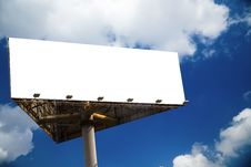 Free Billboard Stock Photography - 9864672