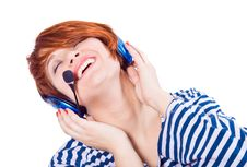 Free Listen To Music Royalty Free Stock Photos - 9864738