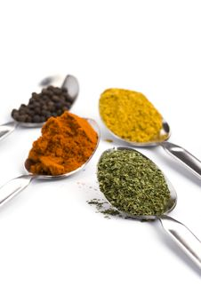 Free Various Spices Royalty Free Stock Photography - 9864937