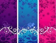 Free Vector Flower Illustration Royalty Free Stock Photos - 9865308
