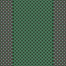 Free Green Pink Checkered Design Stock Photos - 9865403
