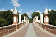 Free Bridge In Russia Stock Photos - 9865413