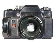 Old Reflex Camera Stock Photos