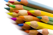 Free Color Pencils Stock Image - 9866251