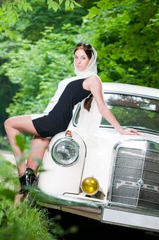 Free Beautiful Pin-up Girl Royalty Free Stock Photography - 9866337