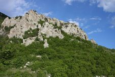 Slope Of Demerdzhi, Crimea Royalty Free Stock Photos
